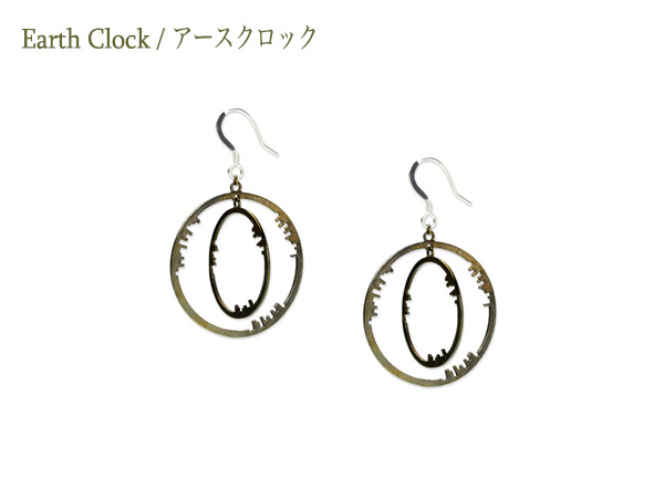 Earth Clock Earring01