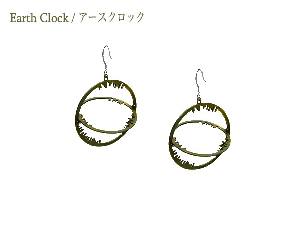 Earth Clock Earring02