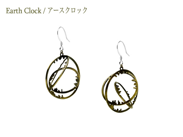 Earth Clock Earring03