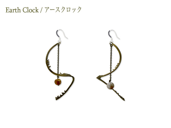 Earth Clock Earring Helix
